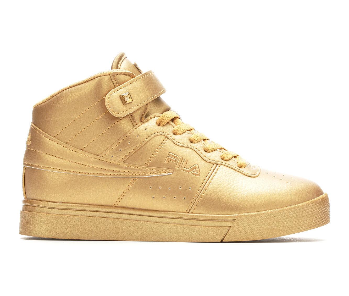 Women's Fila Vulc 13 MP Metallic Stars Basketball Shoes Gold