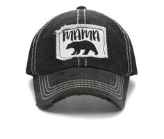 David and Young Mama Bear Patch Cap