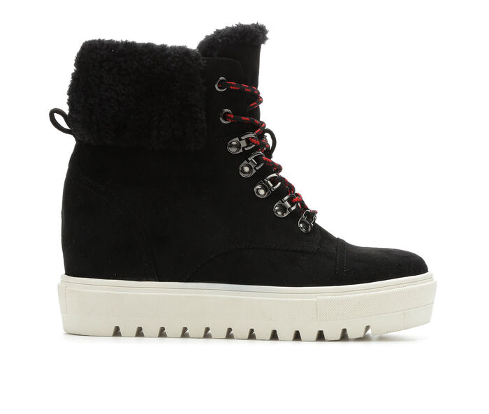 Women's Madden Girl Trickiee Wedge Sneaker Boots