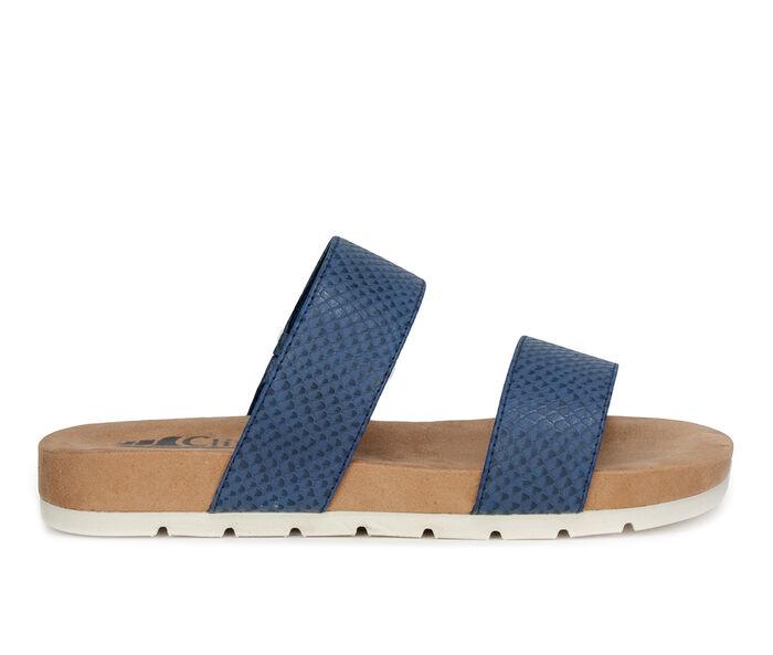 Women's Cliffs by White Mountain Tahlie Slide Sandals