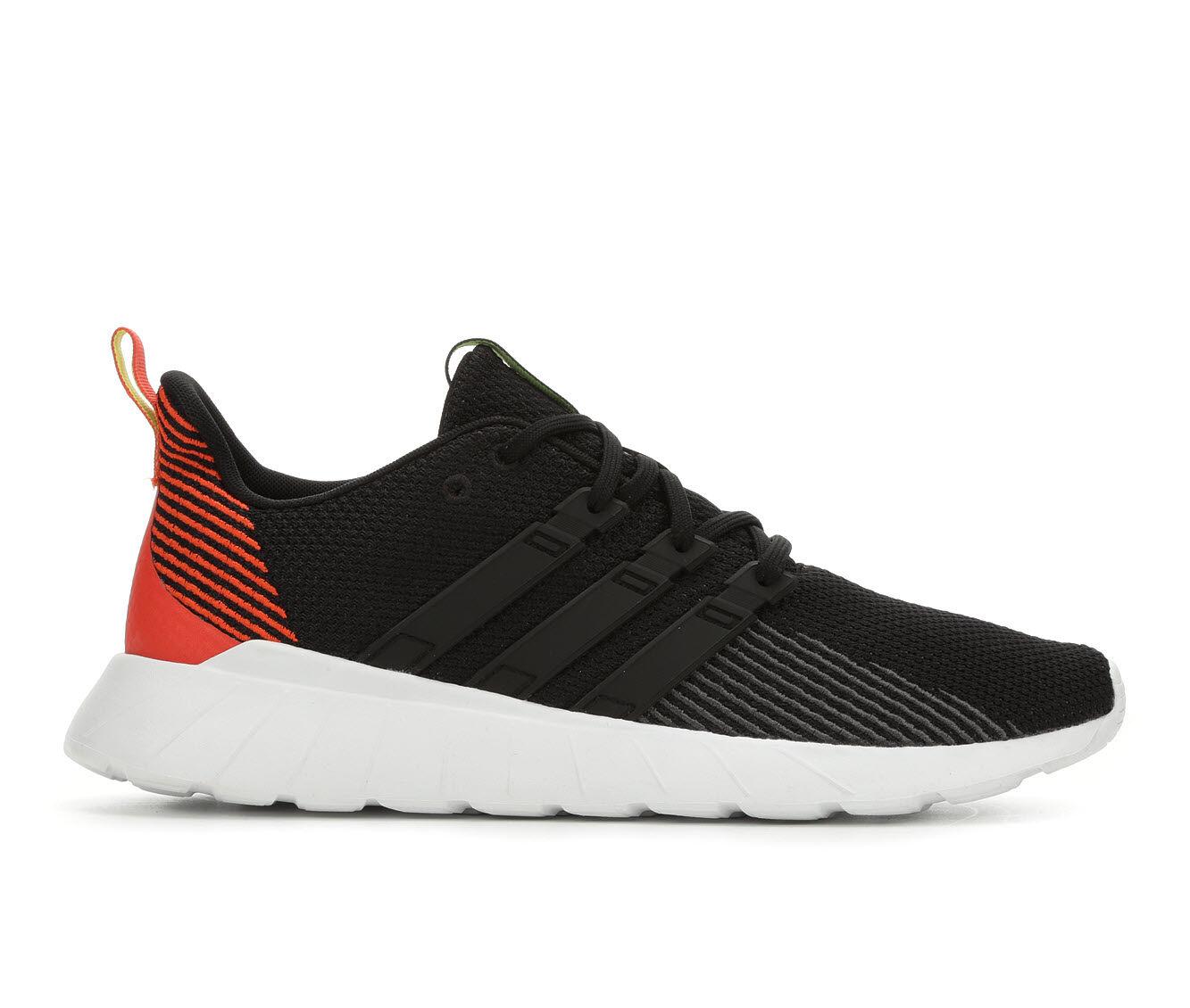 Men's Adidas Questar Flow Running Shoes Blk/Org/Wht