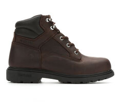 Men's Wolverine 6 In Bulldozer Steel Toe Work Boots