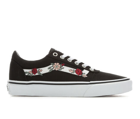 Women's Vans Ward Floral Skate Shoes