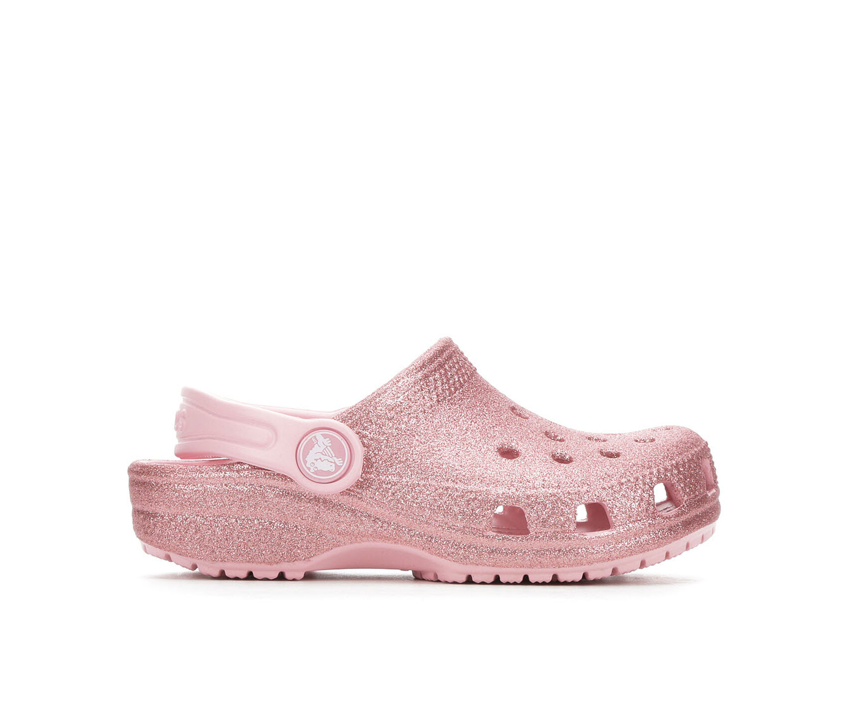 0723764cad Girls' Crocs Toddler Classic Glitter Clog | Shoe Carnival