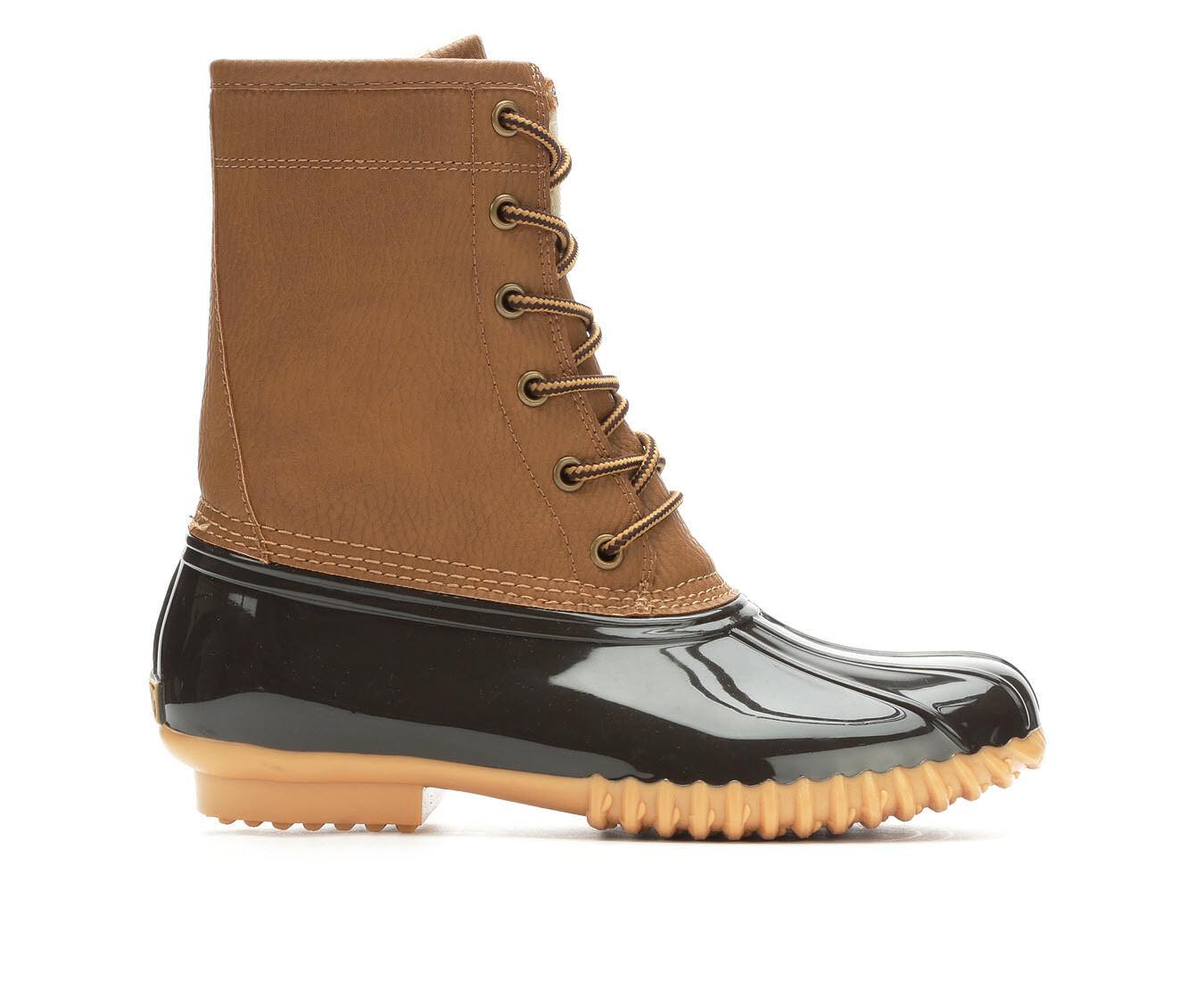 choose authentic Women's Sporto Dakota Duck Boots Brown/Tan