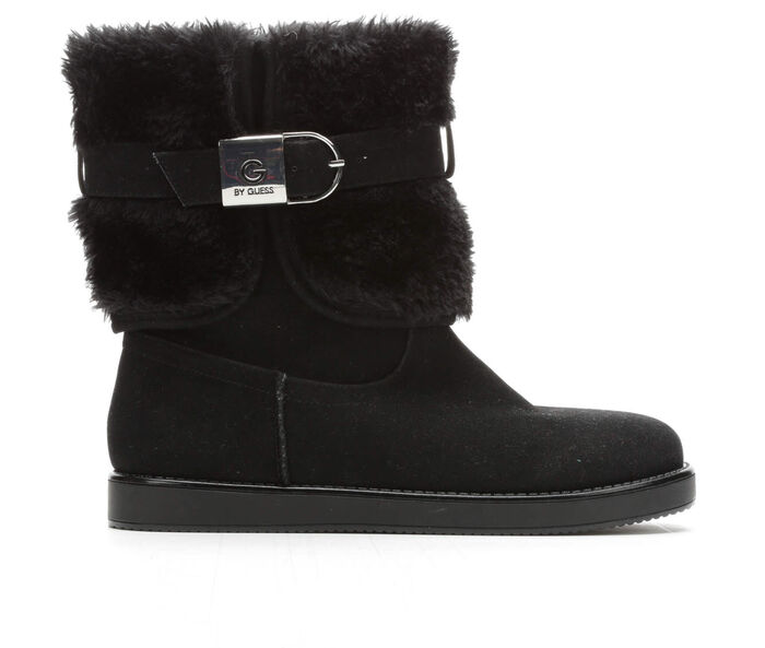 Women's G By Guess Addalyn Faux Fur Boots