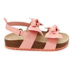 Girls' Carters Toddler & Little Kid Zarina Footbed Sandals