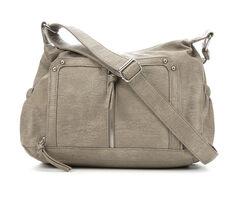 Bueno Of California Washed Croco Crossbody Handbag
