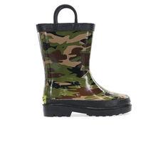 Boys' Western Chief Little Kid & Big Kid Camo Rain Boots