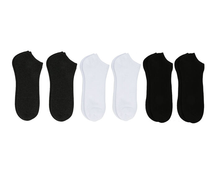 Sof Sole Socks Adults 6 Pair No Show Socks