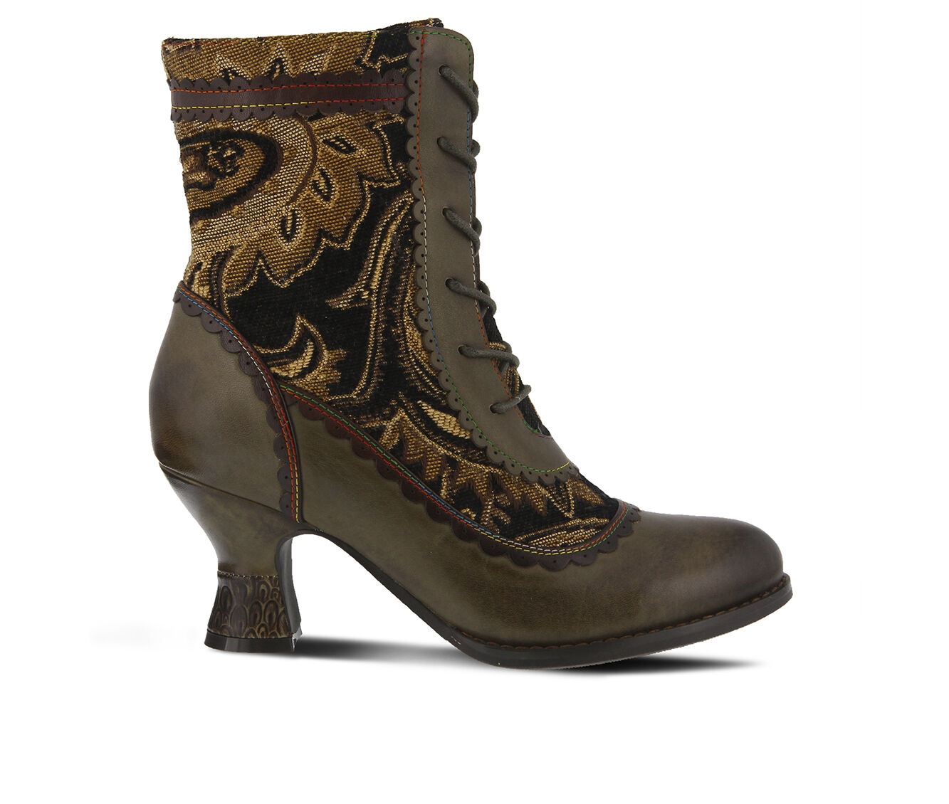 Women's L'ARTISTE Bewitch Booties Olive Multi
