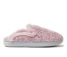 Dearfoams Erin Chenille Knit Scuff Slippers