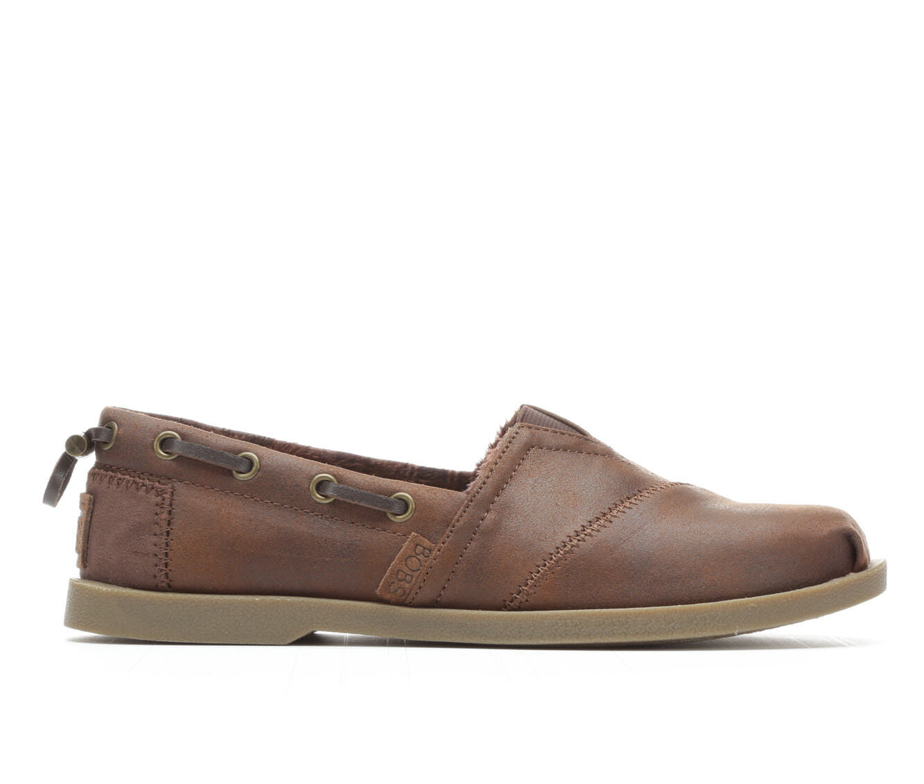 Women's BOBS Buttoned Up 33731 Slip-Ons Brown