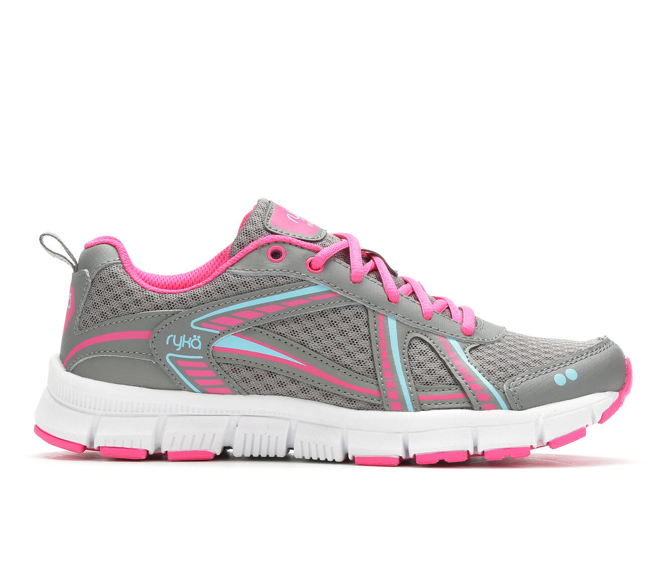 Women's Ryka Hailee Training Shoes Grey/Pink/Blue