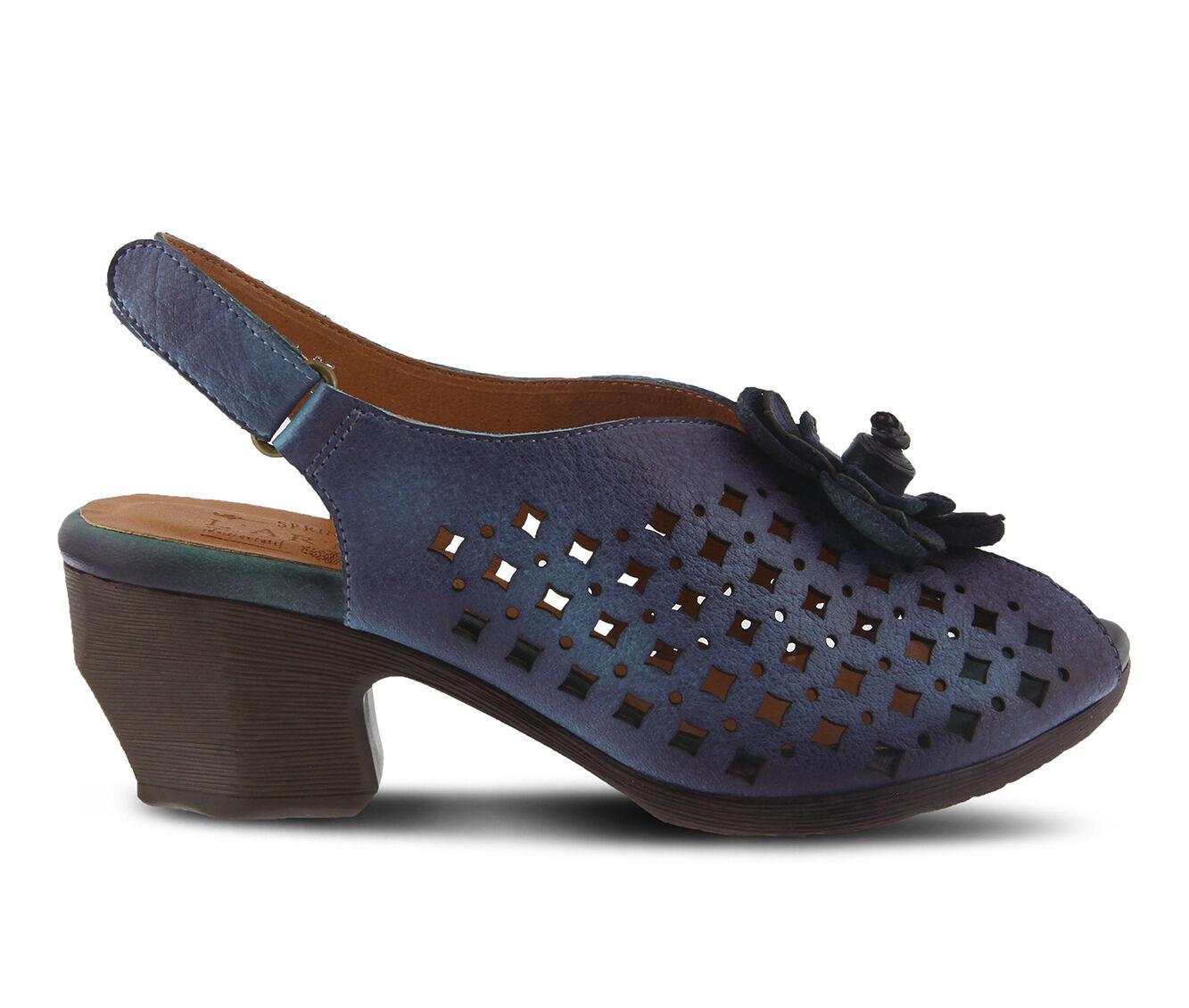 Specials Offer Women's L'ARTISTE Lovella Dress Sandals Blue Multi