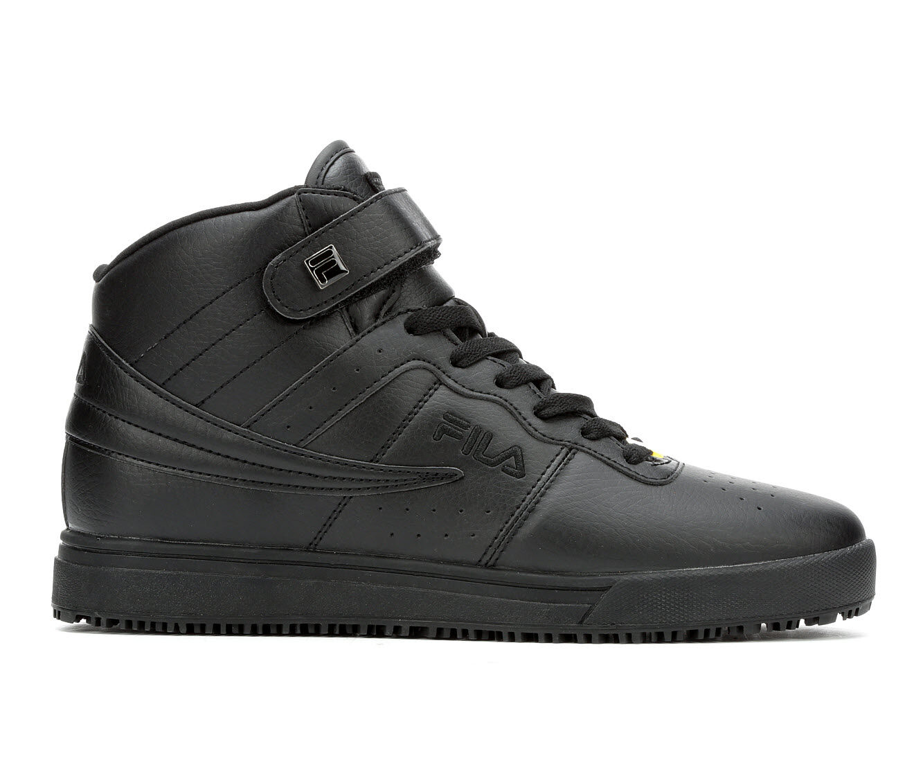Men's Fila Vulc 13 Slip Resistant Safety Shoes Black/Black