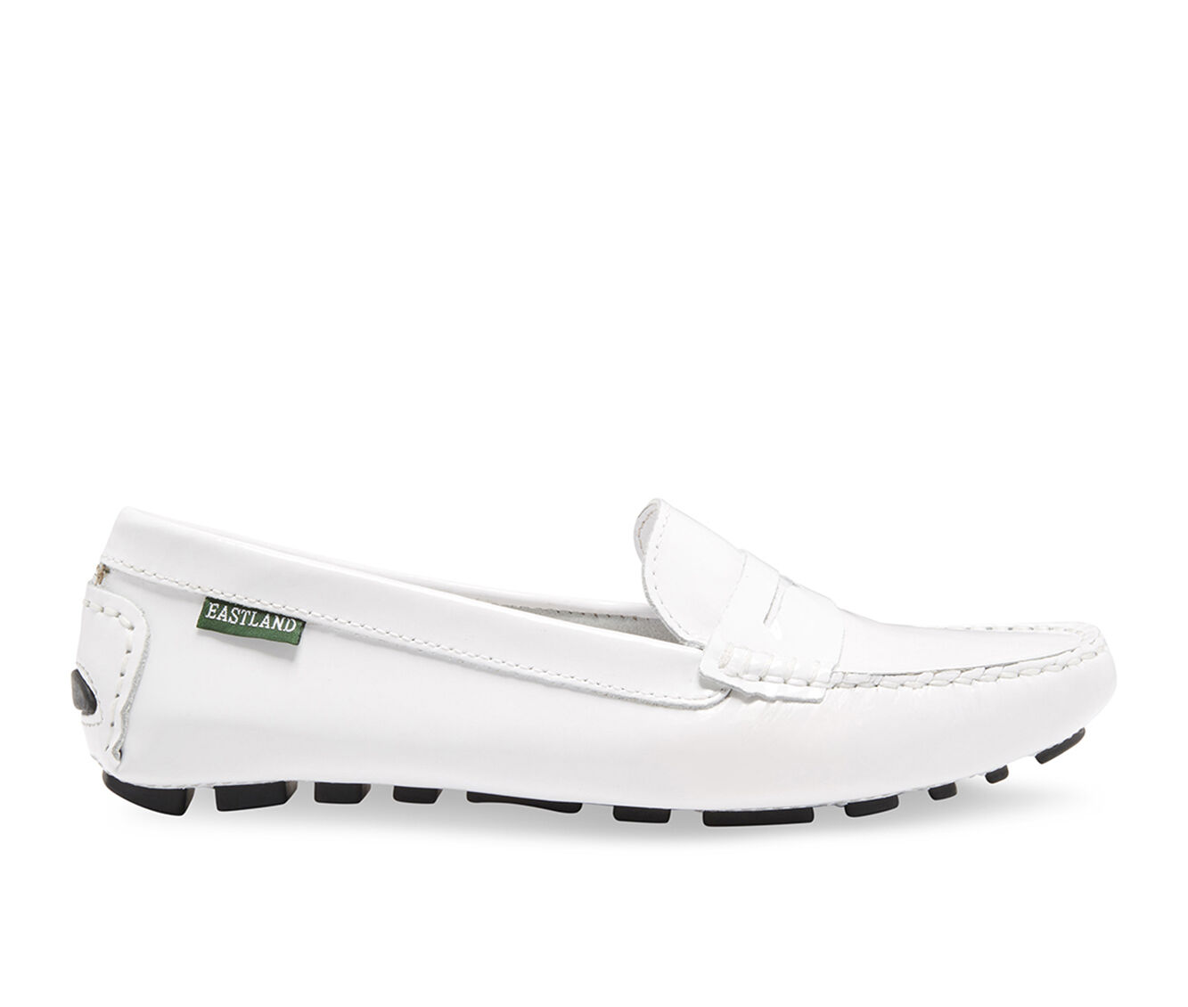 bargain Women's Eastland Patricia Penny Loafers White