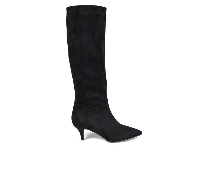 Women's Journee Collection Vellia Extra Wide Calf Kitten Heel Knee High Boots