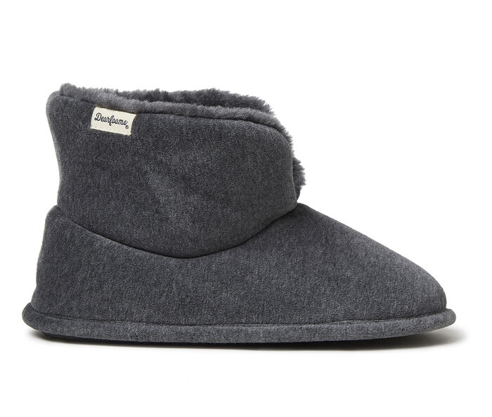Dearfoams Sara Velour Bootie Slippers