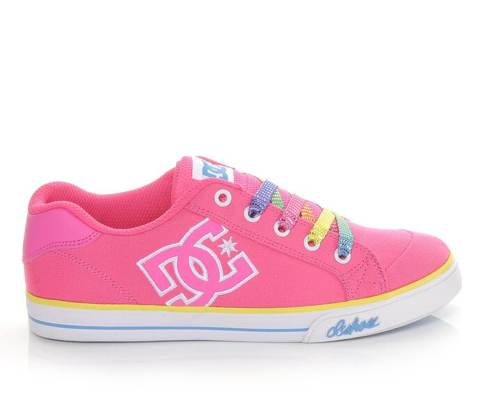 Girls' DC Chelsea Canvas Skate Shoes