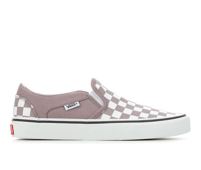 Women's Vans Asher Checker Skate Shoes