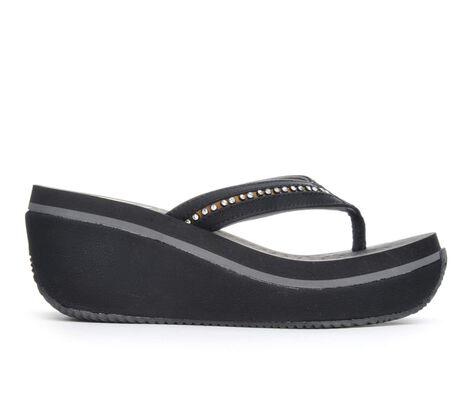 Women's Volatile Amberly Platform Wedge Flip-Flops
