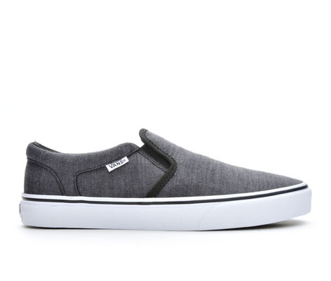 Men's Vans Asher Premium Slip-On Skate Shoes