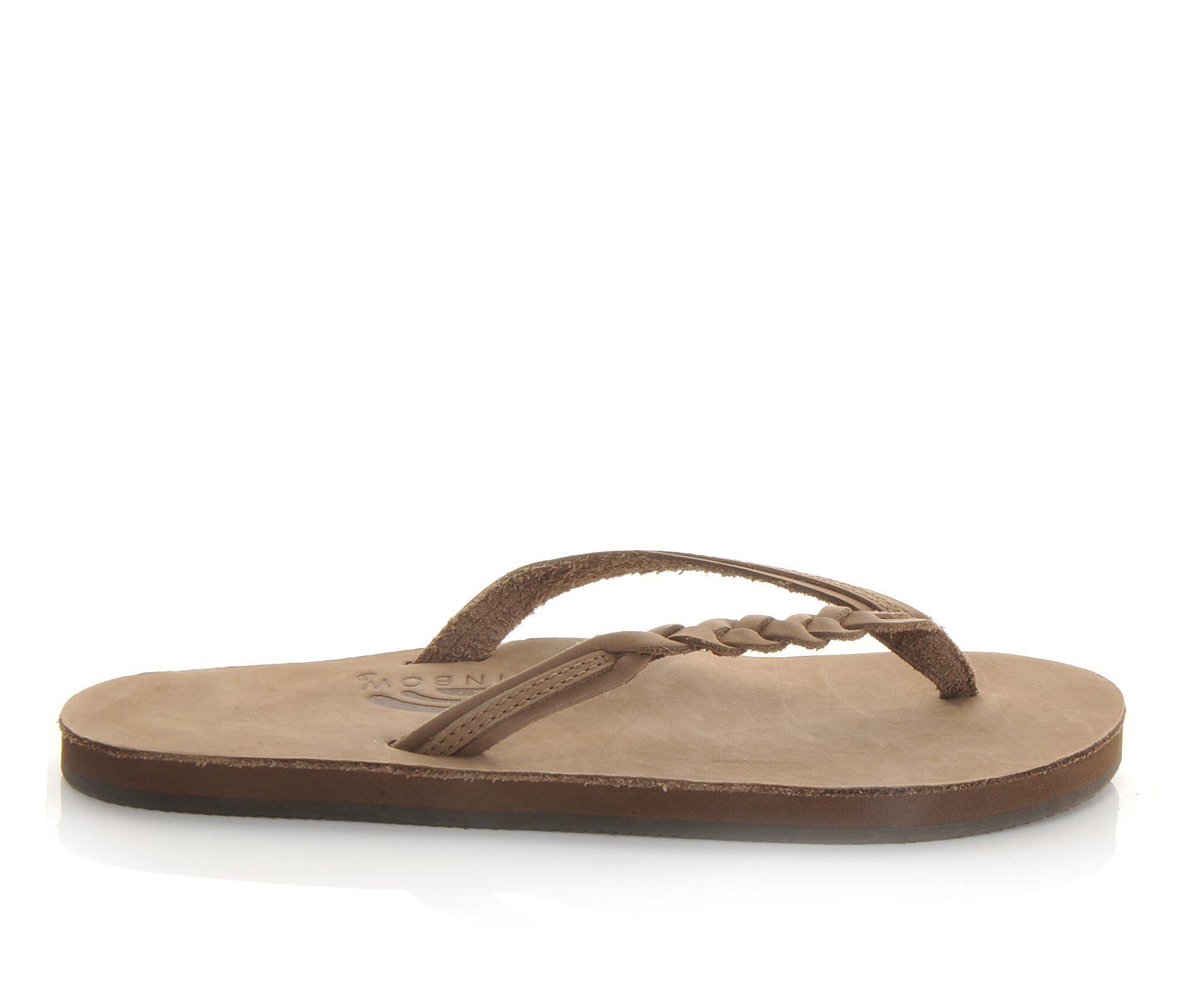 buy special Women's Rainbow Sandals Flirty Braidy -301ALTSB Flip-Flops Sierra Brown