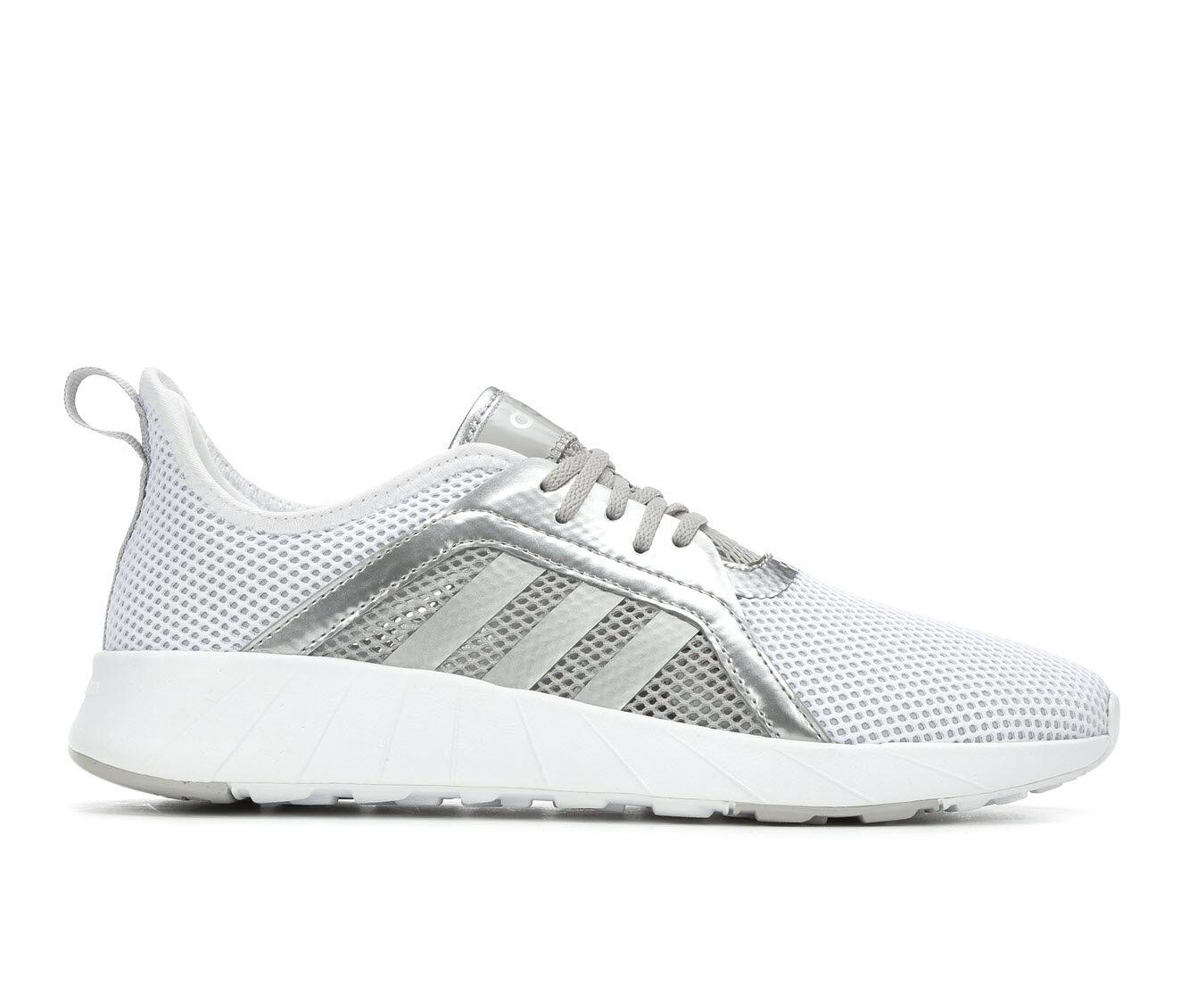 Women's Adidas Khoe Run Running Shoes White/Grey/Silv