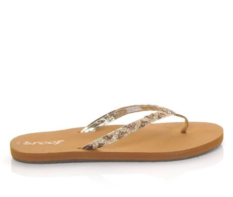 Girls' Reef Little Twisted Stars Flip-Flops