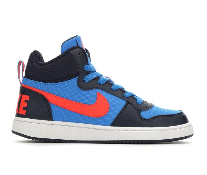 Boys' Nike Big Kid Court Borough Mid Basketball Shoes