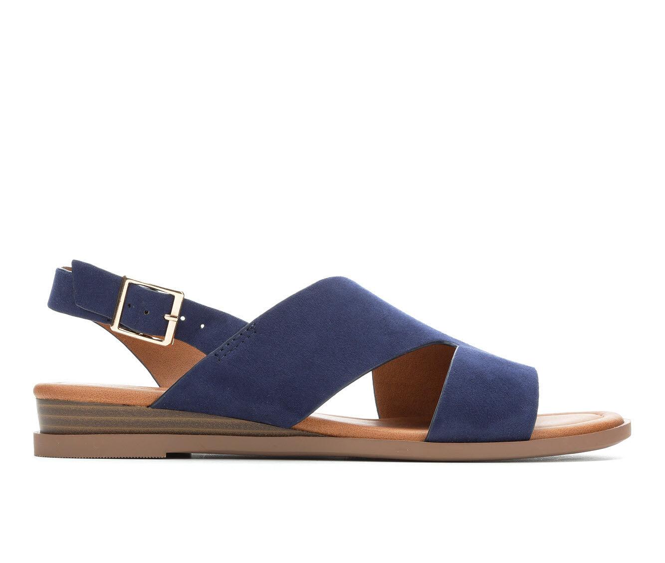 For Sale Popular Women's Solanz Brooklyn Sandals Navy Df
