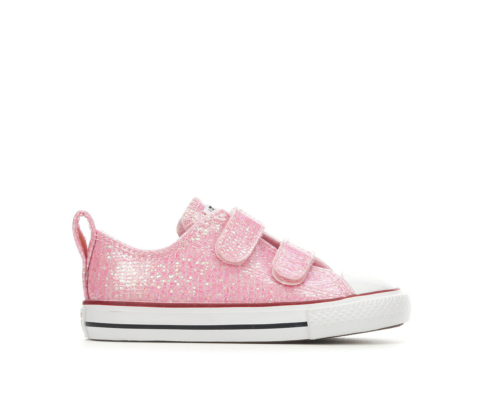 07034cef008d Girls' Converse Toddler CTAS Sparkle Sneakers | Shoe Carnival