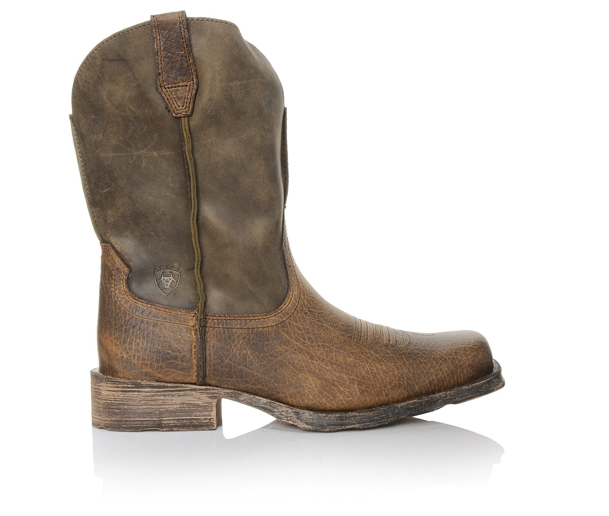 Men's Ariat Rambler Western Boots Brown Bomber