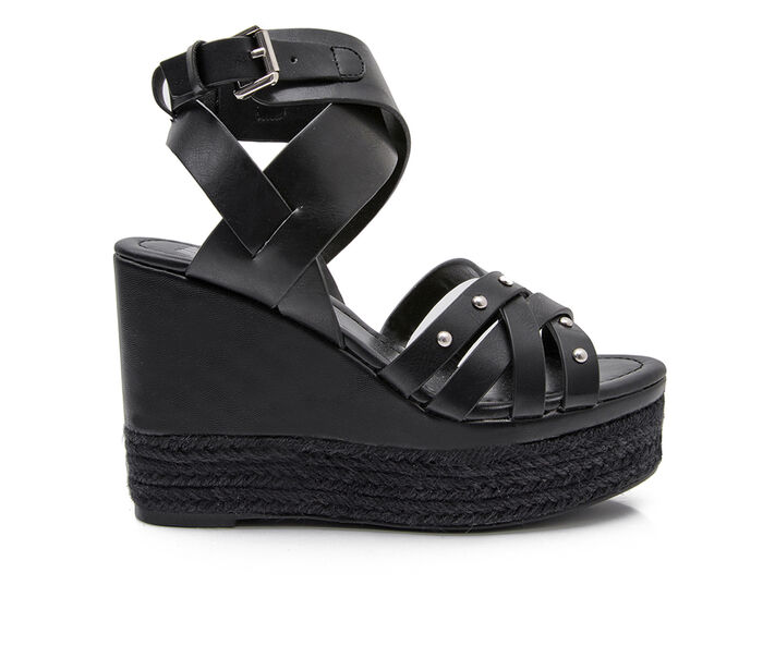 Women's Jane And The Shoe Luna Wedges