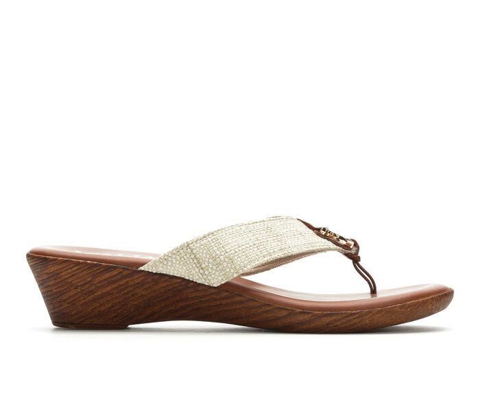 Women's Italian Shoemakers Ely Wedge Flip-Flops