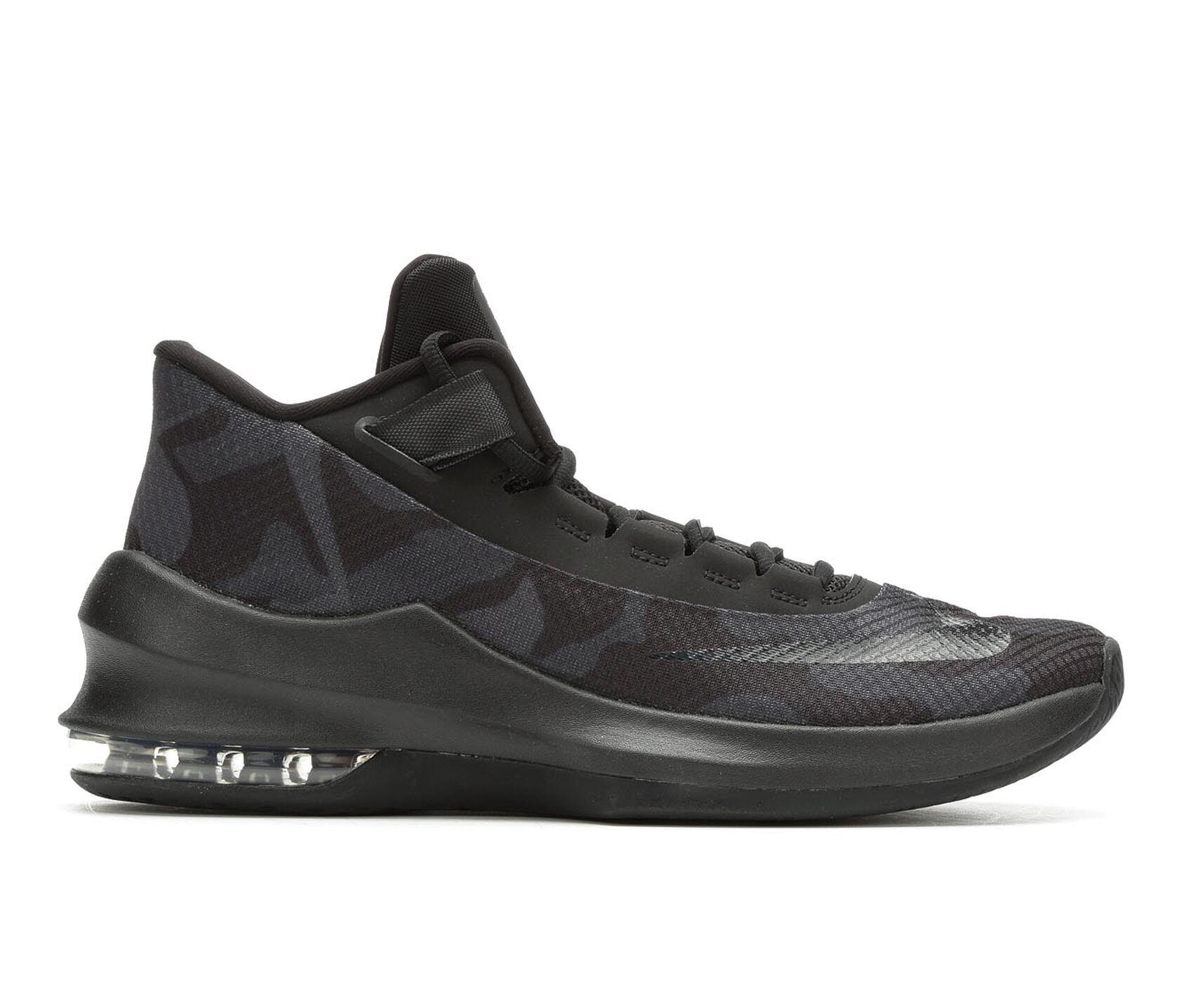13c0844597 Men's Nike Air Max Infuriate II Mid Premium Basketball Shoes | Shoe ...