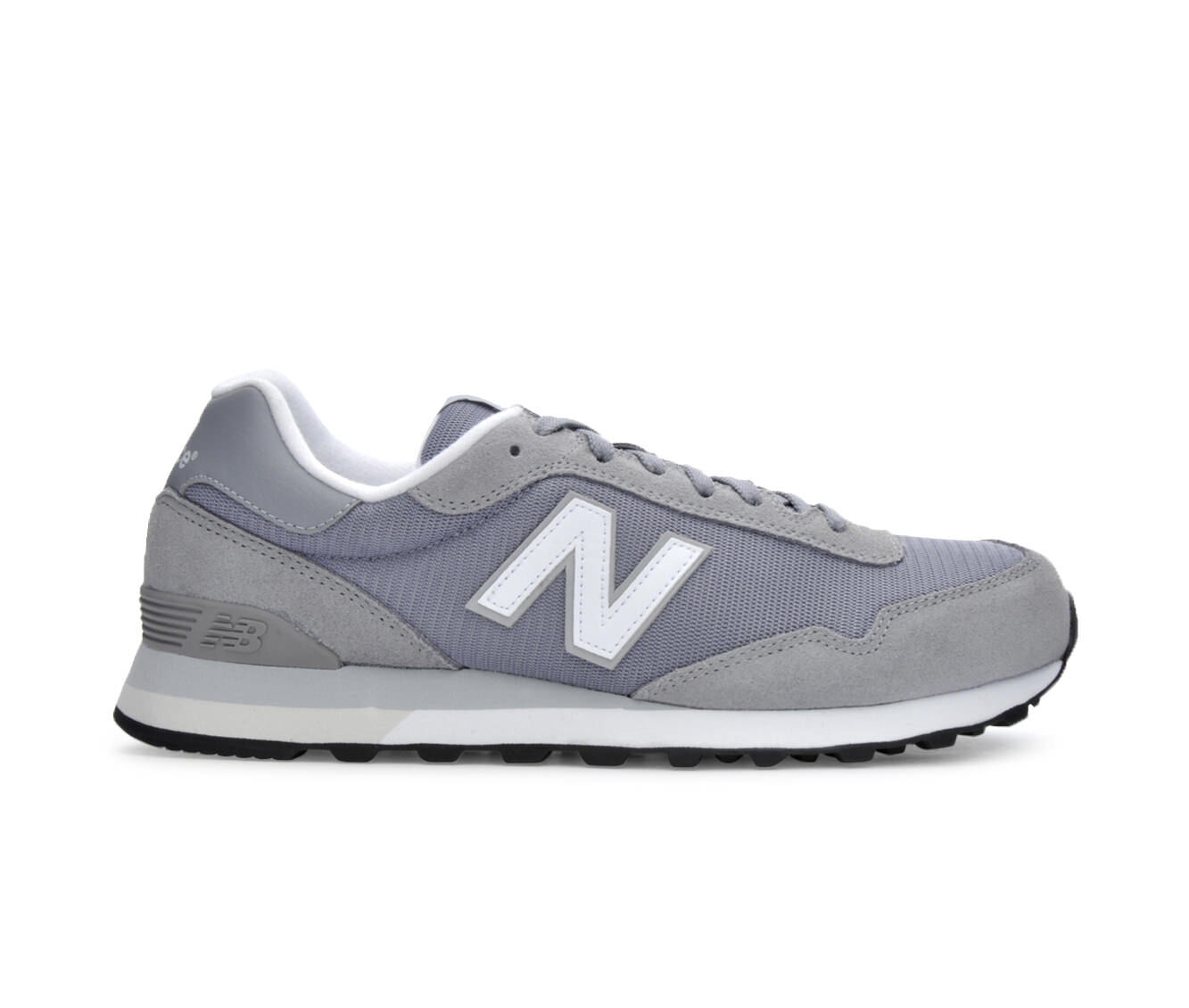 Men's New Balance ML515 Retro Sneakers Gry/Wht/Blk
