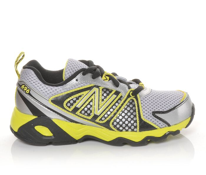 Boys' New Balance KJ696BGY 10.5-5 Running Shoes