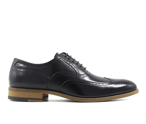 Men's Stacy Adams Dunbar Wingtip Wing Tip Dress Shoes