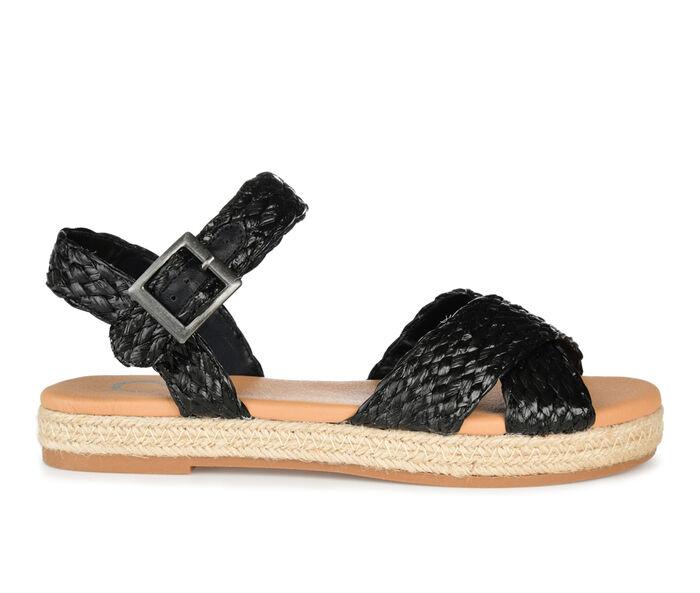 Women's Journee Collection Brooke Espadrille Flatform Sandals