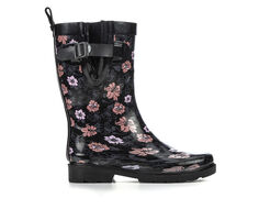 Women's Capelli New York Lovely Floral Mid Rain Boots