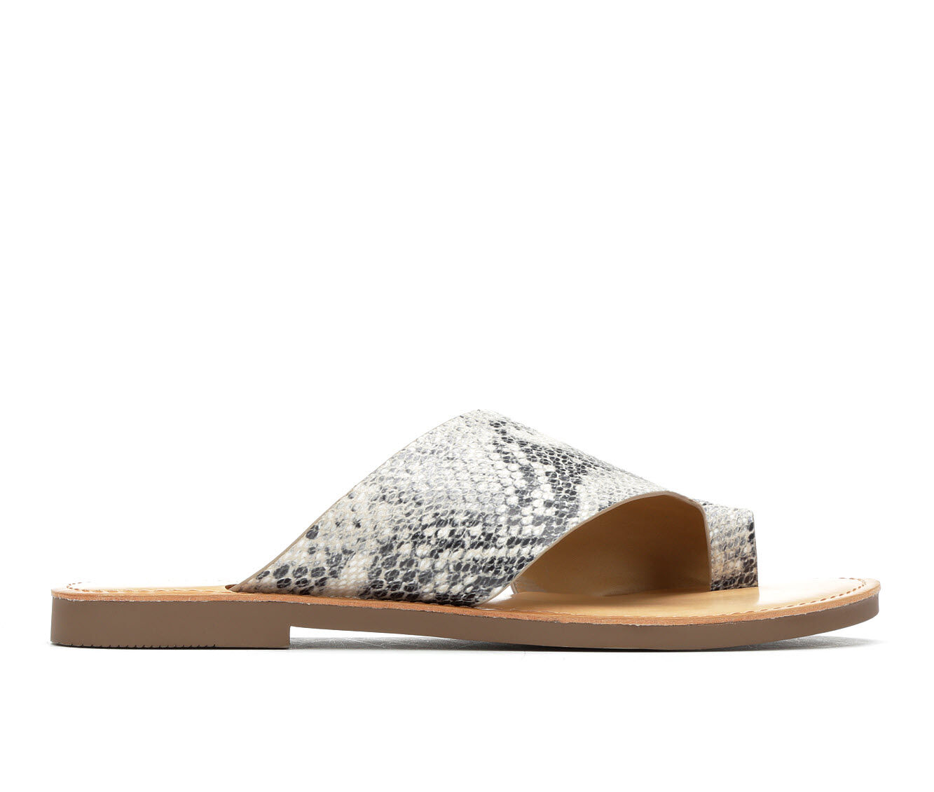 Women's Y-Not Heading Sandals Bge Glossy Pyth