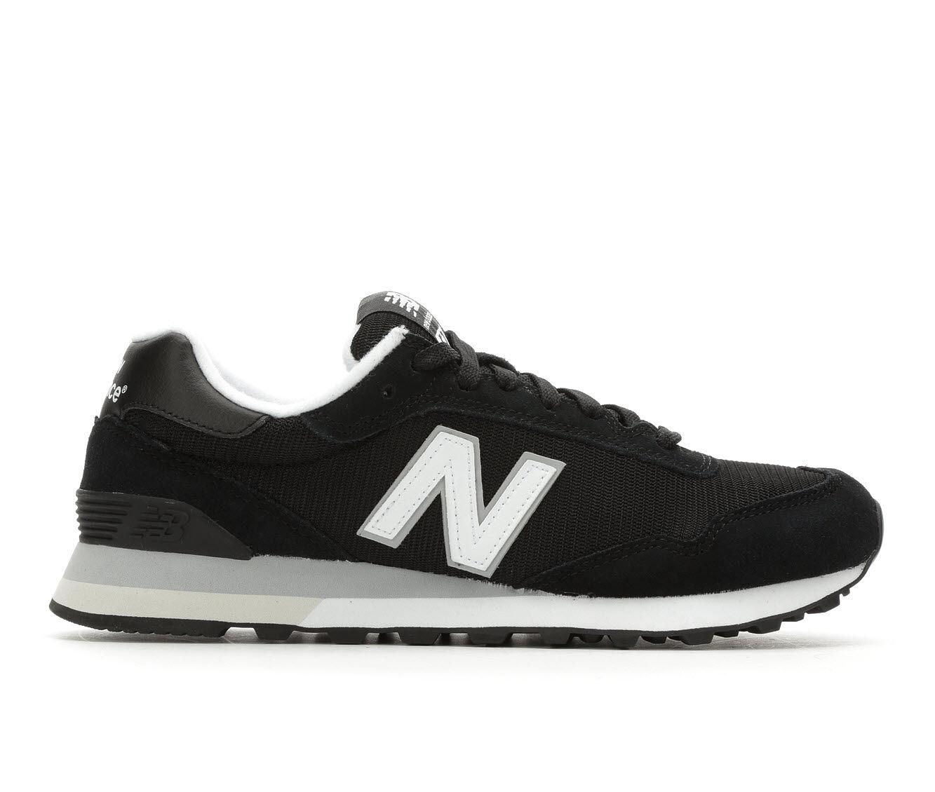 Designer For Sale Men's New Balance ML515 Retro Sneakers Blk/Wht/Gry