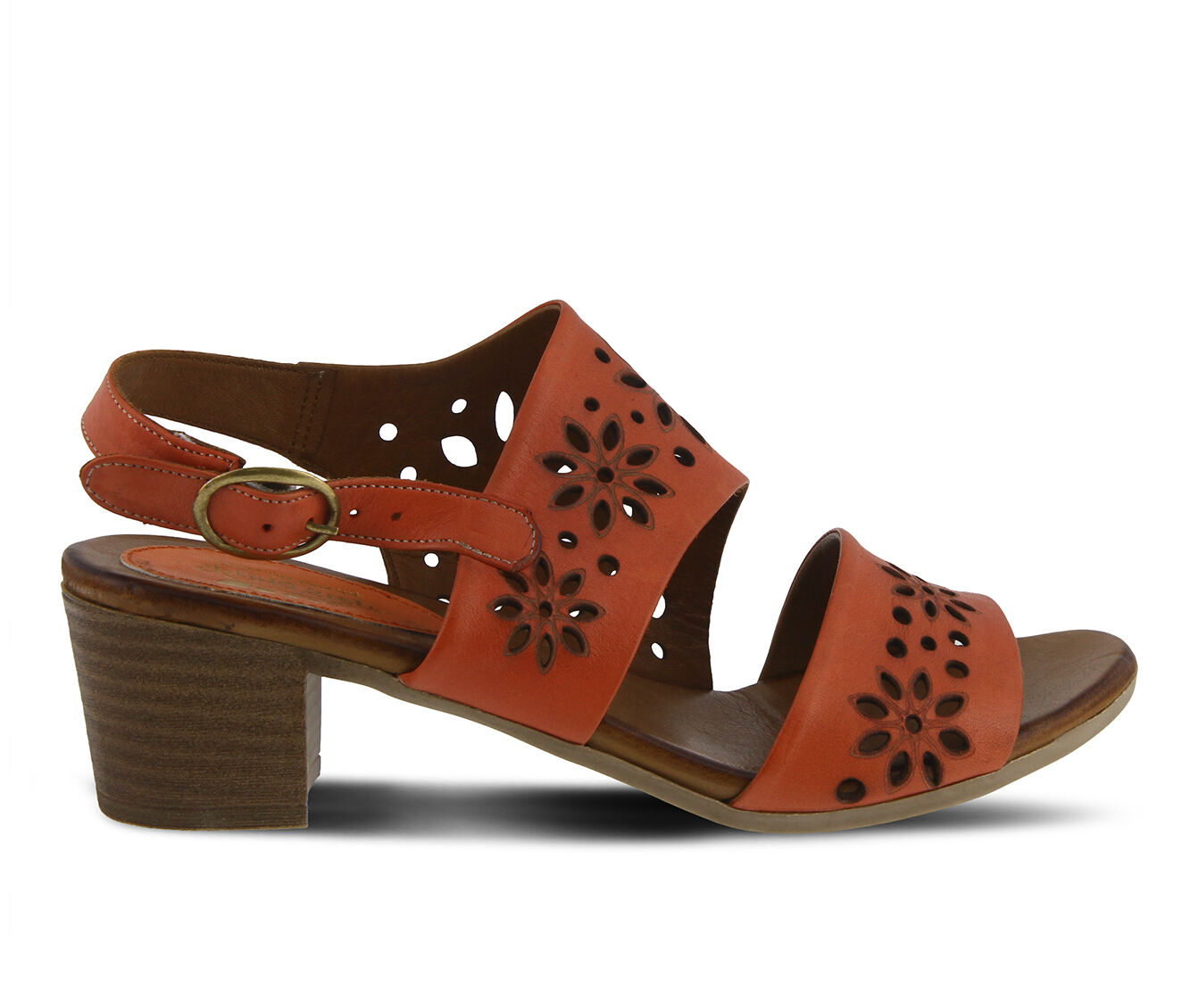Best Quality Women's SPRING STEP Mandalay Dress Sandals Coral