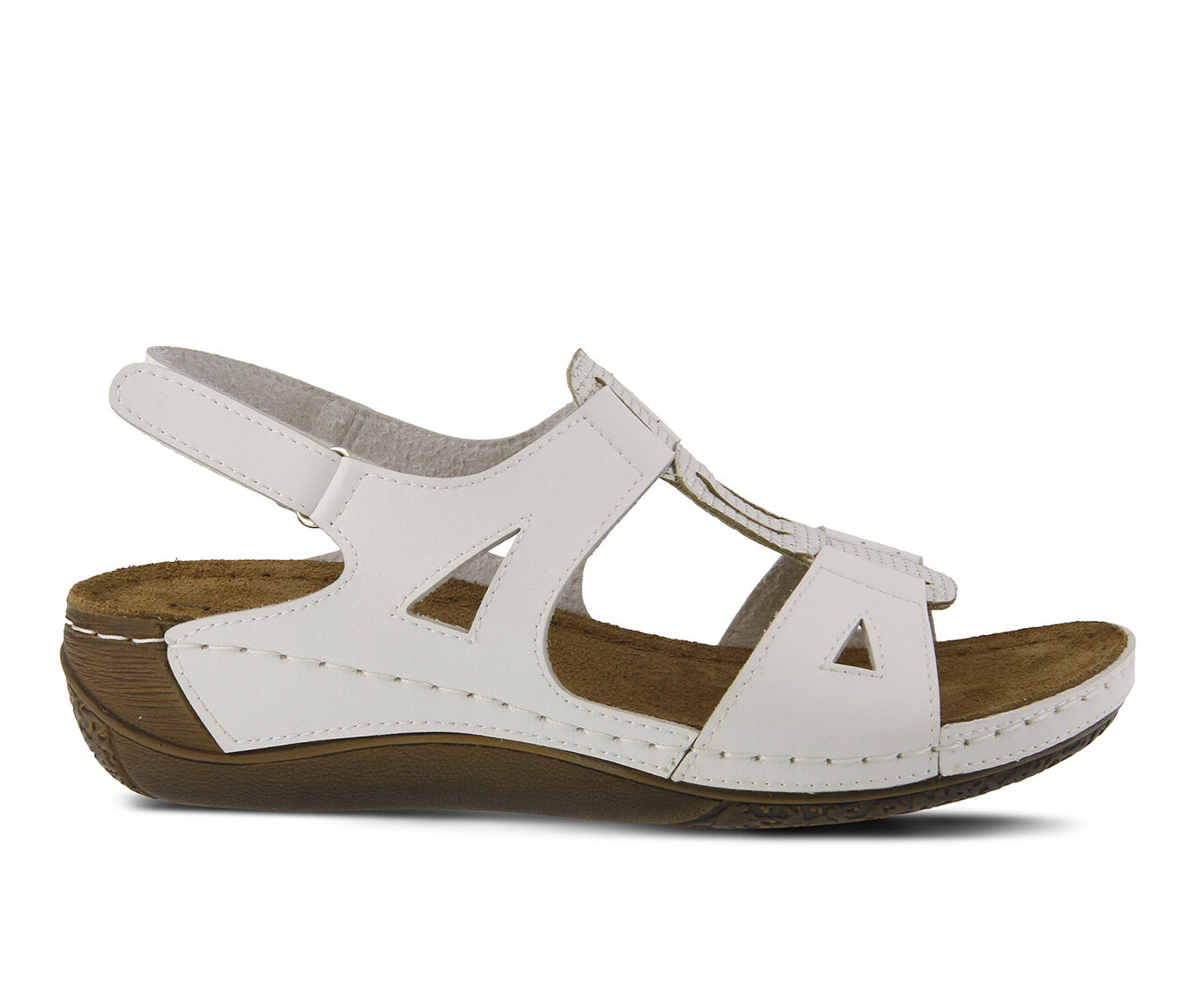 a large variety of Women's FLEXUS Naxos Sandals White