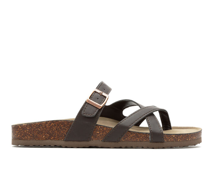 Women's Madden Girl Bartlet Strappy Footbed Sandals