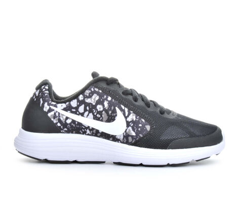 Boys' Nike Revolution 3 Print 3.5-7 Running Shoes
