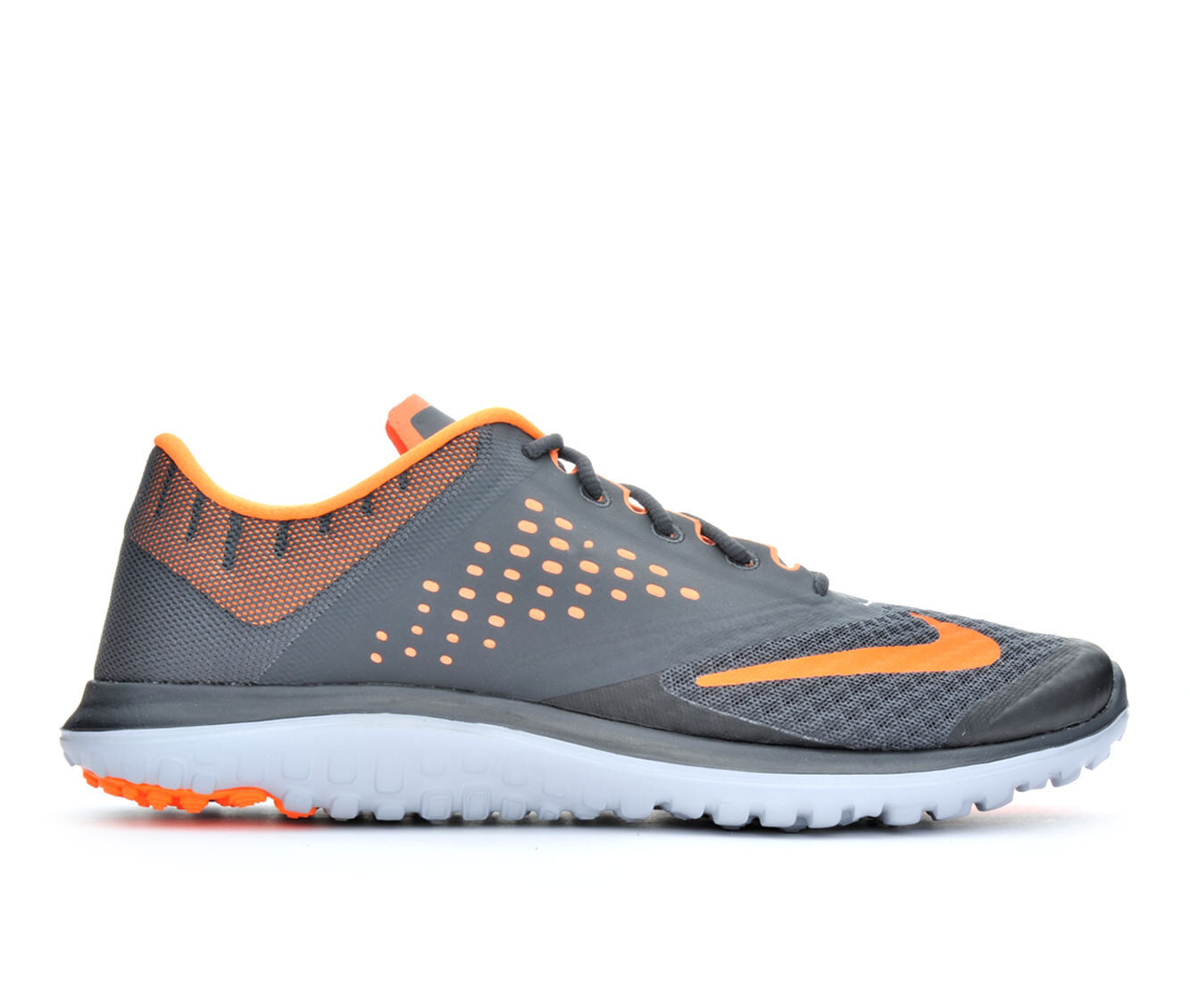 Nike Fs Lite Run Light Grey Orange Mens Shoes Welcome To Buy Our Products