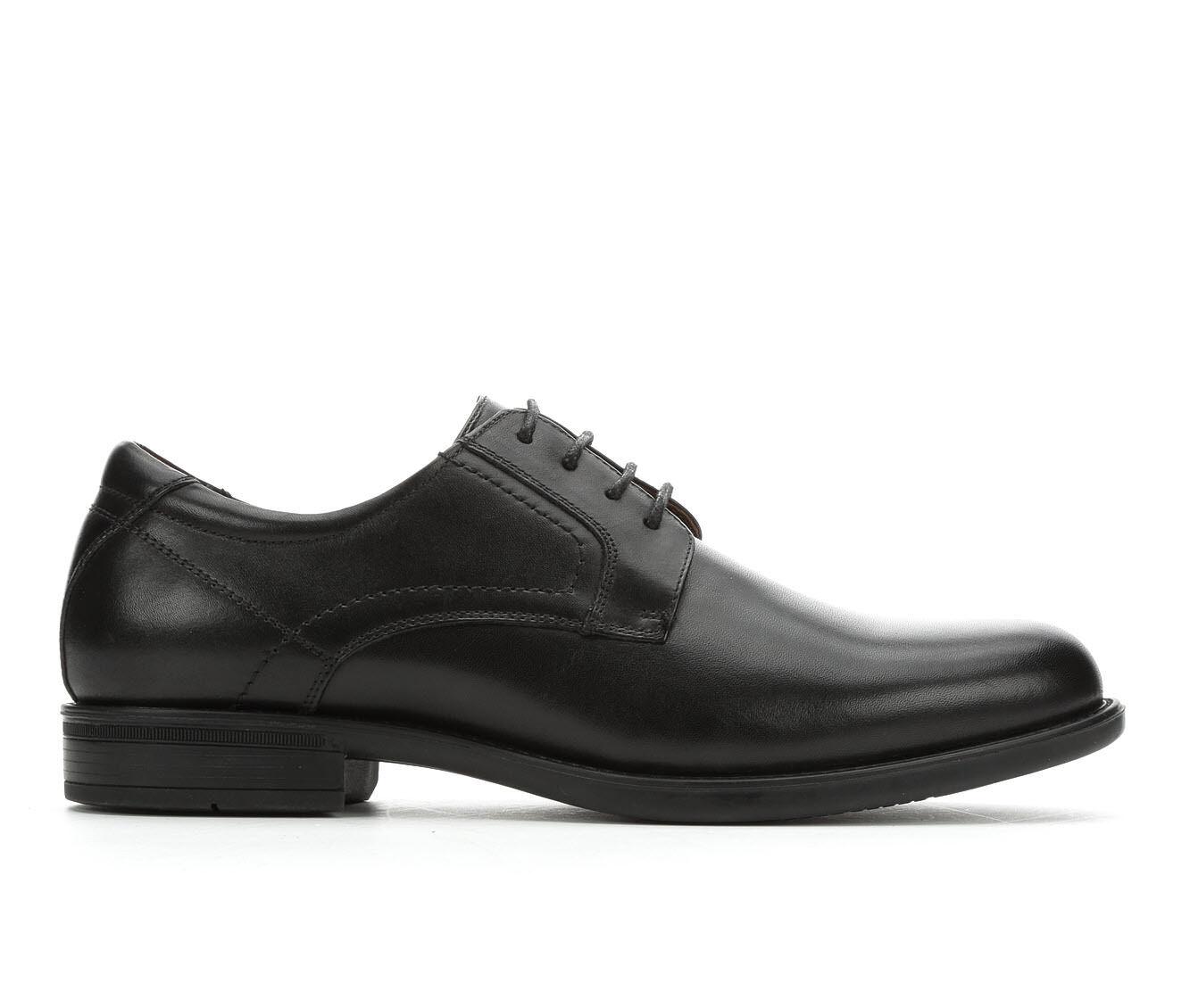 Men's Florsheim Midtown Plain Toe Ox Dress Shoes Black